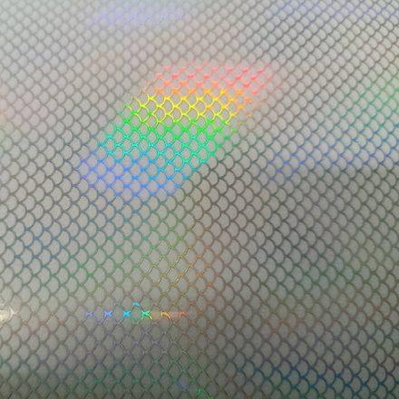 Csalimatrica - 20cm x 11cm - pikkely-szivárvány, vonalak, 1db