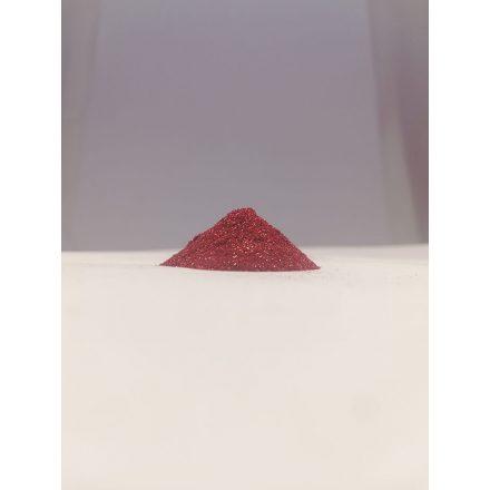 Csillámpor - 0,1mm - Red
