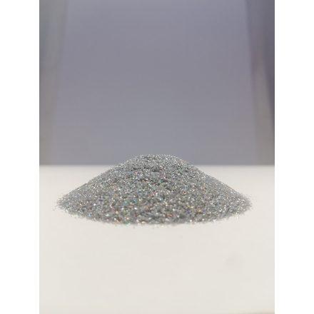 Csillámpor -  0,2mm - Silver