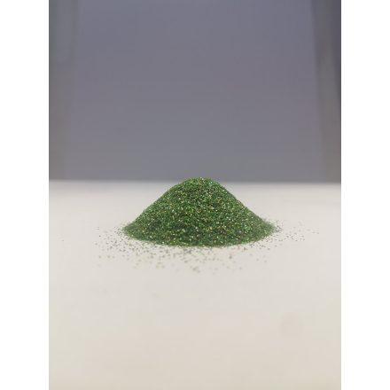 Csillámpor -  0,2mm - Green Light