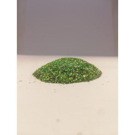 Csillámpor - 0,4mm - Green Light