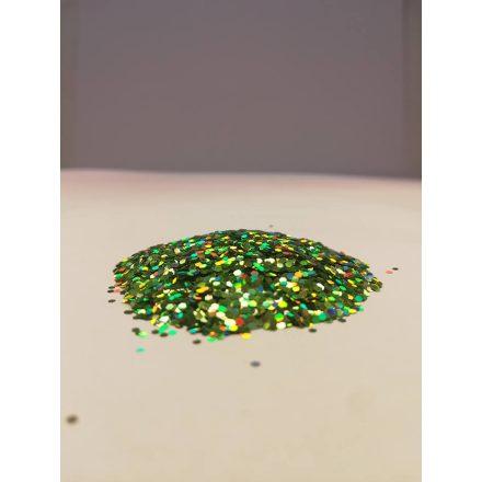Csillámpor - 1mm - Green Light