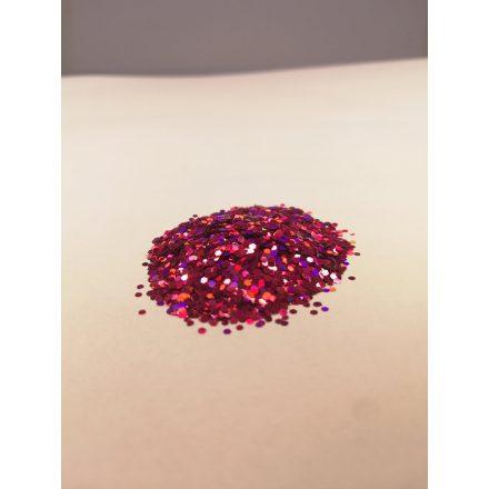 Csillámpor - 1mm - Pink