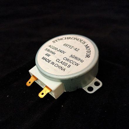 Forgató motor - 4-5 rps