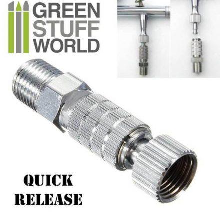 Green Stuff World airbrush gyorscsatlakozó