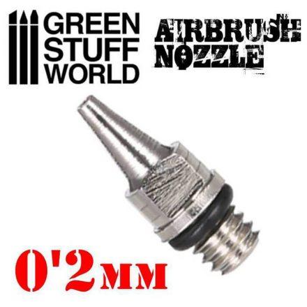 Green Stuff World airbrush dűzni 0,2mm