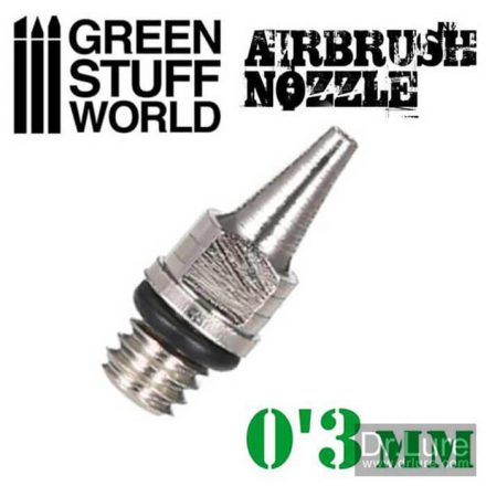 Green Stuff World airbrush dűzni 0,3mm