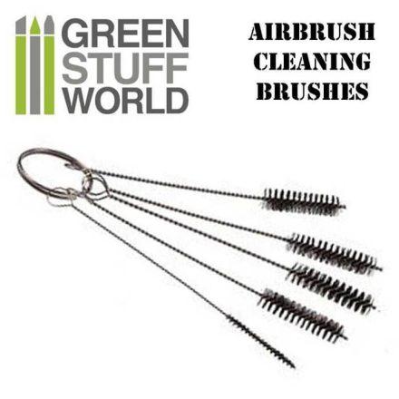 Green Stuff World airbrush tisztító kefe