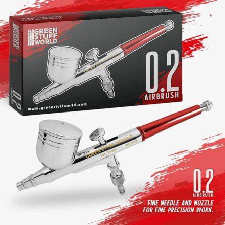 Green Stuff World airbrush pisztoly 0,2mm