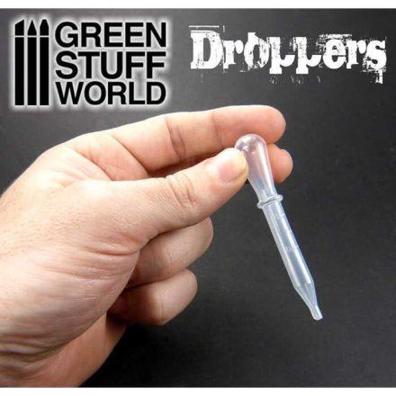 Green Stuff World airbrush szívócsöves cseppentő 5db