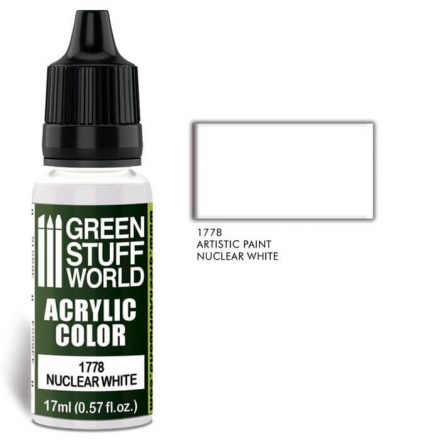 Green Stuff World acrylic color-nuclear white