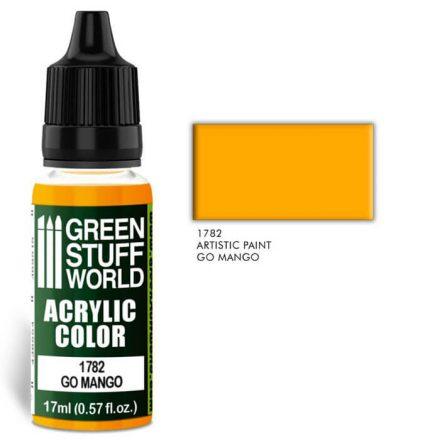 Green Stuff World acrylic color-go mango