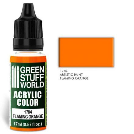 Green Stuff World acrylic color-flaming orange