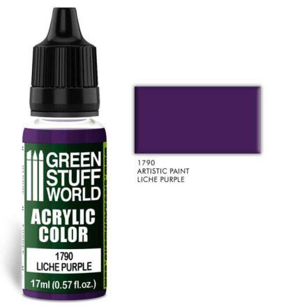 Green Stuff World acrylic color-liche purple