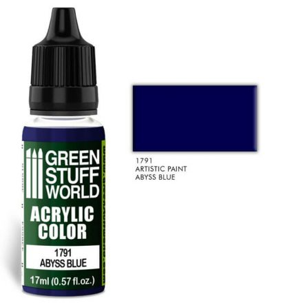Green Stuff World acrylic color-abyss blue