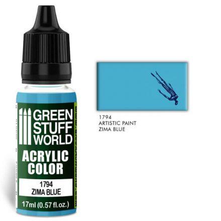 Green Stuff World acrylic color-zima blue
