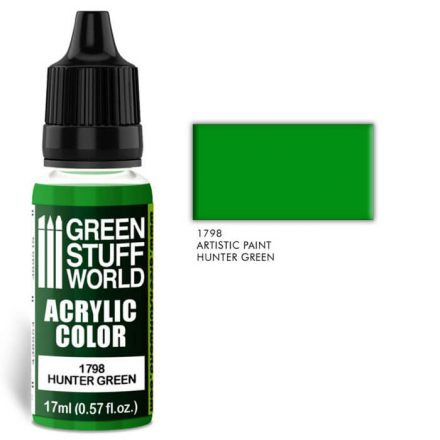 Green Stuff World acrylic color-hunter green