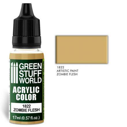 Green Stuff World acrylic color-zombie flesh