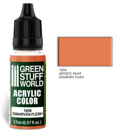 Green Stuff World acrylic color-dwarven flesh