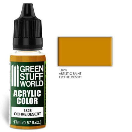 Green Stuff World acrylic color-ochre desert