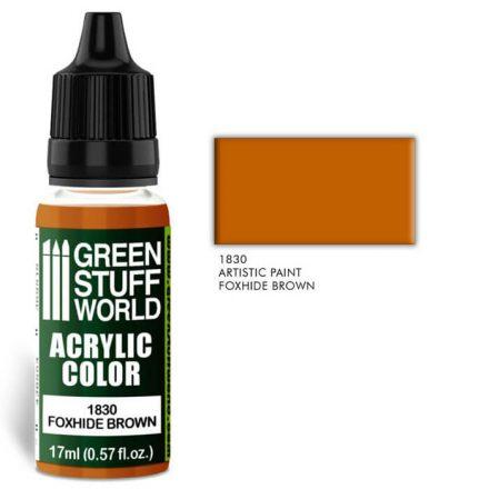 Green Stuff World acrylic color-foxhide brown