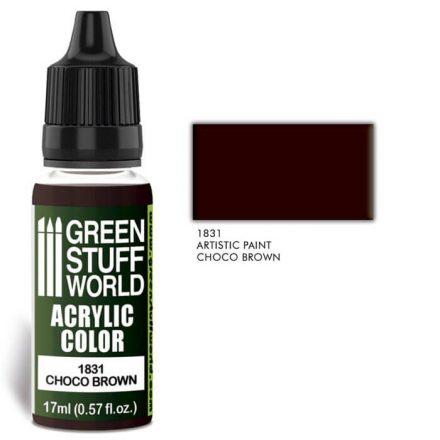 Green Stuff World acrylic color-choco brown
