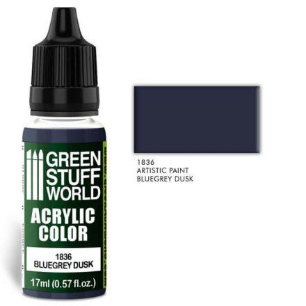 Green Stuff World acrylic color-bluegrey dusk