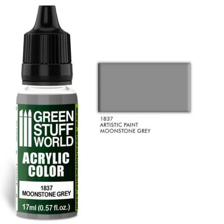 Green Stuff World acrylic color-moonstone grey