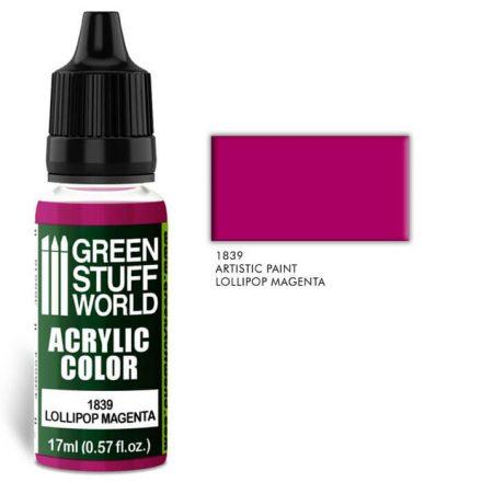 Green Stuff World acrylic color-lollipop magenta