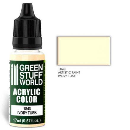 Green Stuff World acrylic color-ivory tusk