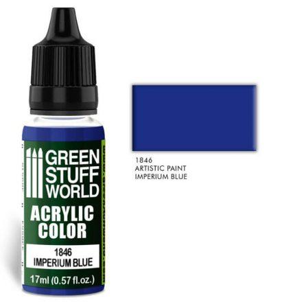 Green Stuff World acrylic color-imperium blue
