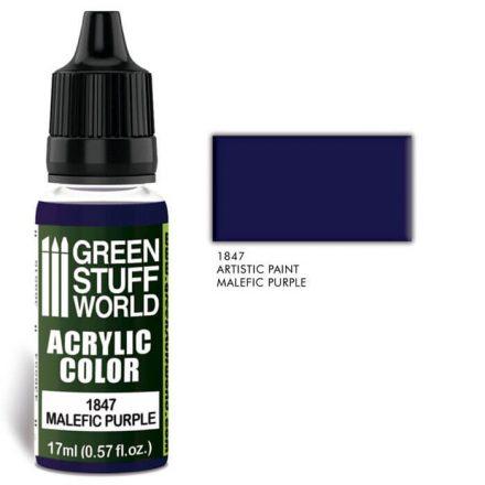 Green Stuff World acrylic color-malefic purple