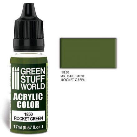 Green Stuff World acrylic color-rocket green