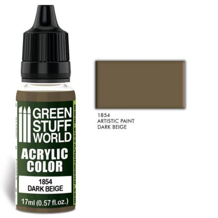 Green Stuff World acrylic color-dark beige