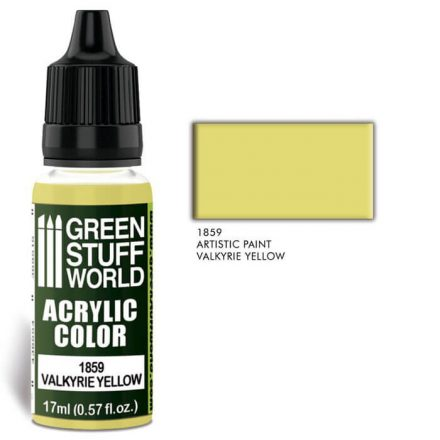 Green Stuff World acrylic color-valkyrie yellow