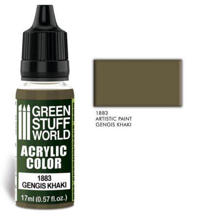 Green Stuff World acrylic color-gengish khaki
