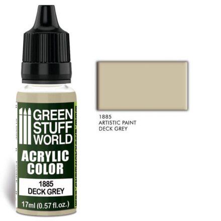 Green Stuff World acrylic color-deck grey