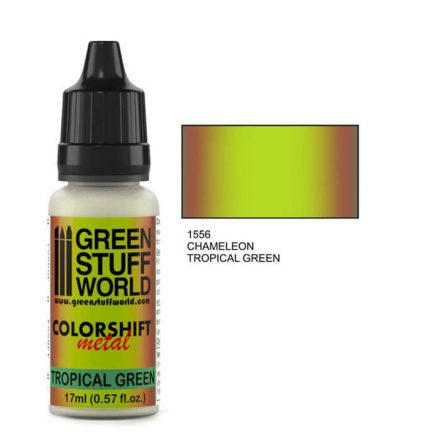Green Stuff World chameleon-tropical green