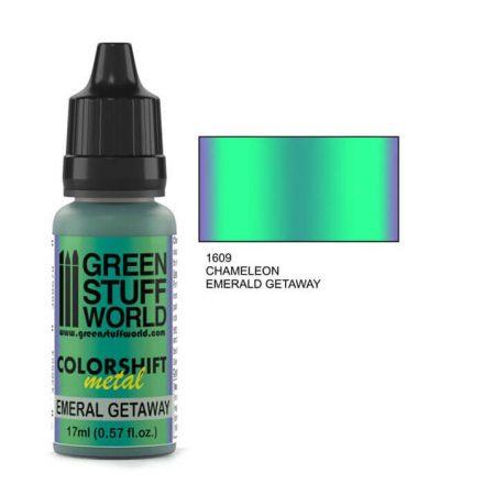 Green Stuff World chameleon-emeral getaway