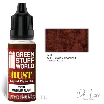 Green Stuff World RUST Liquid Pigments - Medium rust