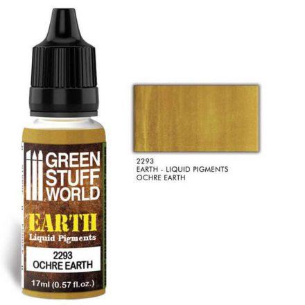 Green Stuff World EARTH Liquid Pigments - Ochre Earth