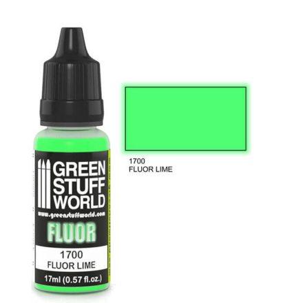 Green Stuff World fluor paint-lime