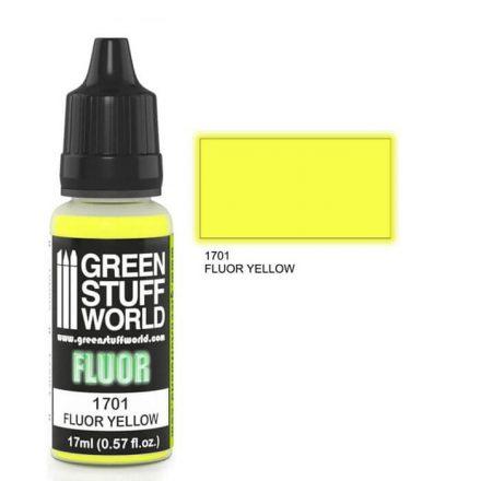 Green Stuff World fluor paint-yellow