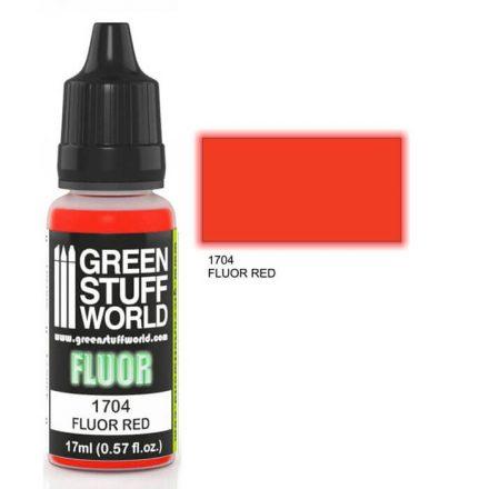 Green Stuff World fluor paint-red