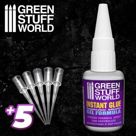 Green Stuff World gel formula super glue