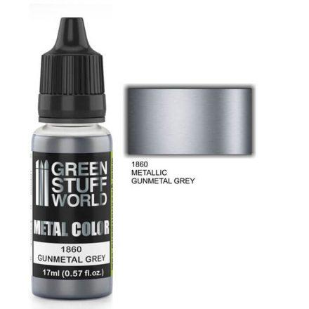 Green Stuff World metal color-gunmetal grey