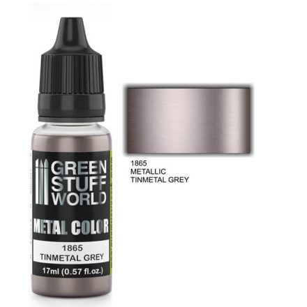 Green Stuff World metal color-tinmetal grey