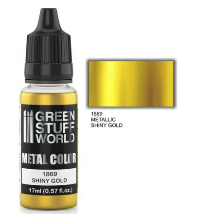 Green Stuff World metal color-shiny gold
