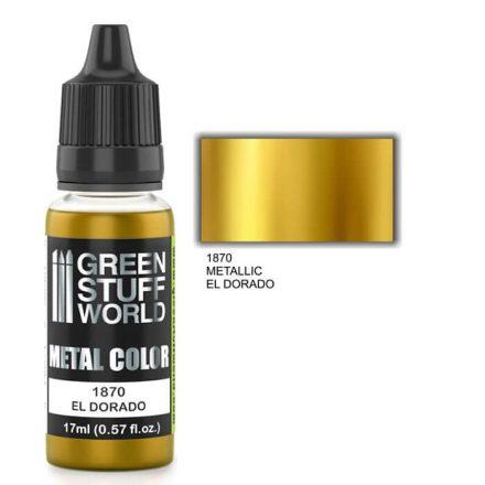 Green Stuff World metal color-el dorado gold