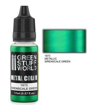 Green Stuff World metal color-sirenscale green